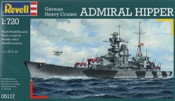 Revell 1:720 - German Heavy Cruiser Admiral Hipper
