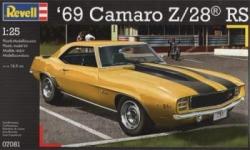 Revell 1:24 - 1969 Camaro Z/28 RS