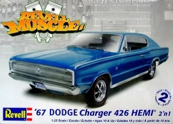 Revell Monogram 1:25 - 1967 Dodge Charger 426 Hemi 2n1