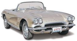 Revell Monogram 1:25 - 1962 Corvette Roadster 2 n 1