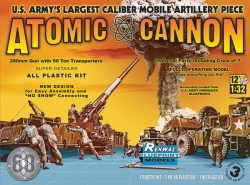 Revell Monogram 1:32 - Atomic Cannon 60th Anniversary (Renwal)