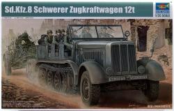 Trumpeter 1:35 - Sd.Kfz.8 Schwerer Zugkraftwagen 12 ton