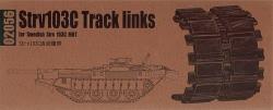 Trumpeter Track Set 1:35 - Strv 103 late Track Links
