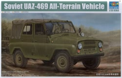 Trumpeter 1:35 - UAZ-469 Soviet All-Terrain Vehicle