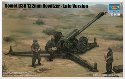 Trumpeter 1:35 - Soviet D-30 122mm Howitzer Late