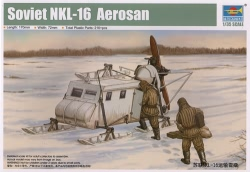 Trumpeter 1:35 - Soviet NKL-16 Aerosan Sled