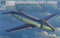 Trumpeter 1:48 - Supermarine Attacker F.1