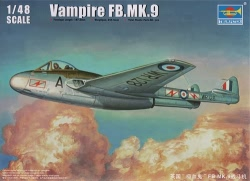 Trumpeter 1:48 - Vampire FB. Mk.9