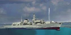 Trumpeter 1:350 - HMS Kent F78 Duke Class Type 23 Frigate