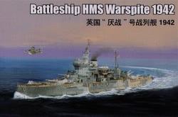 Trumpeter 1:350 - HMS Warspite Battleship