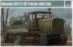 Trumpeter 1:35 - Chelyabinsk ChTZ S-65 Tractor with Cab