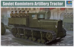 Trumpeter 1:35 - Russian Heavy Tractor Komintern 1942