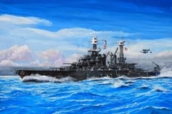 Trumpeter 1:700 - USS Maryland BB-46 1941