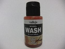 Vallejo Model Wash 35ml - Rust Wash