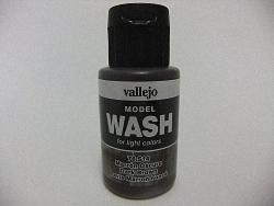 Vallejo Model Wash 35ml - Dark Brown Wash