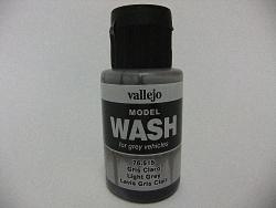Vallejo Model Wash 35ml - Light Grey Wash