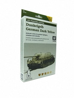 AFV Dunkelgelb Armour Painting System