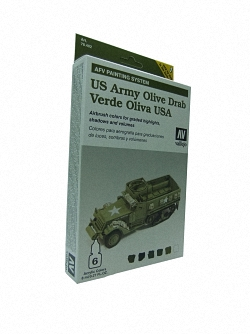 AFV Army Olive Drab Armour Painting System