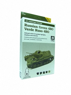 AFV Russian Green Armour Painting System