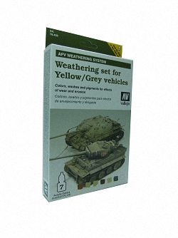AFV Weathering For Yellow & Grey Vehicles