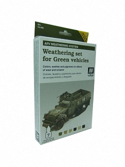 AFV Weathering For Green Vehicles