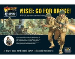 Warlord Games 28mm Bolt Action - Go for Broke! Nissei Infantry