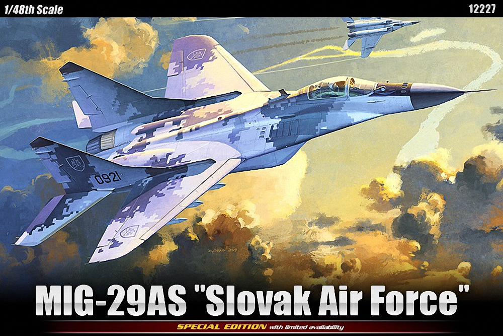 Academy 1:48 - Mikoyan MiG-29AS Slovak AF Re-issue