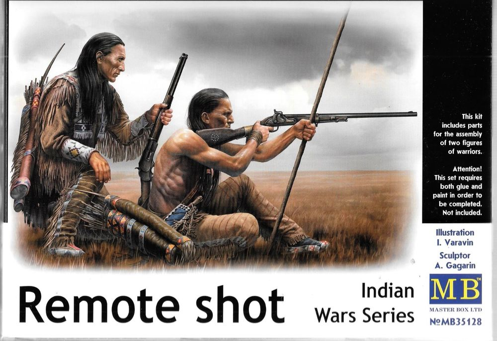 Masterbox 1:35 - Indian Wars Series Remote Shot