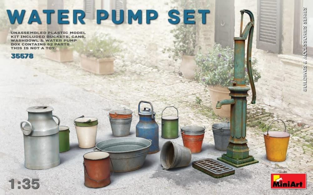 Miniart 1:35 - Water Pump Set