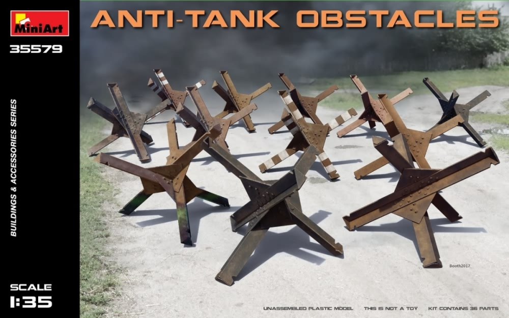 Miniart 1:35 - Anti-tank Obstacles