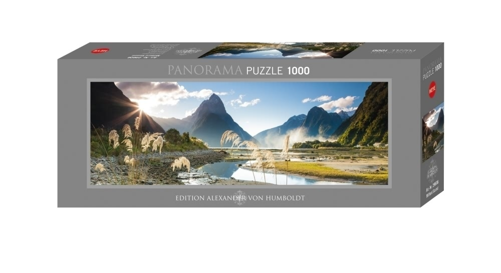 (HY29606) - Heye - Panorama , 1000 Pc - Milford Sound Humboldt Edition