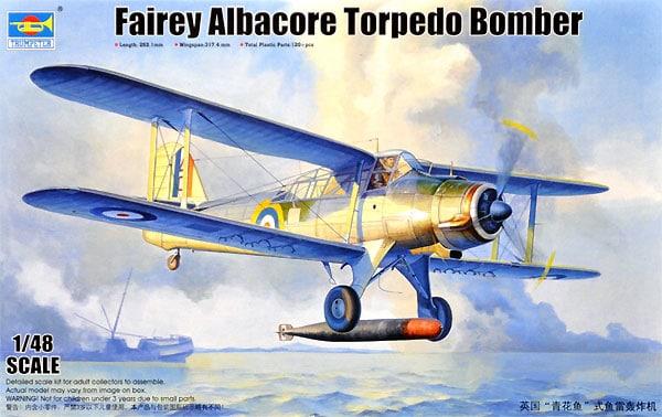 TRU02880 - Trumpeter 1 48 - Fairey Albacore Torpedo Bomber